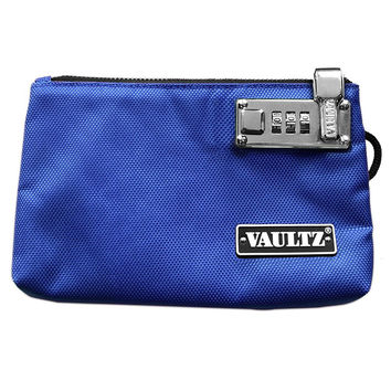 Vaultz Locking Zipper Pouch (Secure Meds, Cell Phone, Cash & Credit Cards)