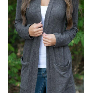 Cupshe All Day Long Casual Cardigan