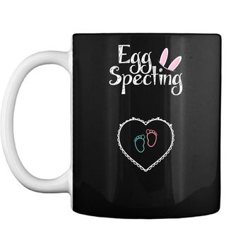 703faba1111a3 Also Available As Custom. Pin My Tees. Pin My Tees $24.95. – 17%. Eggspecting  Pregnancy Announcement Easter Shirt - Baby Steps Mug