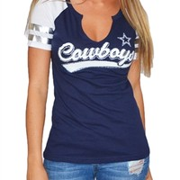 Dallas Cowboys Womens Star Pride Tee | SportyThreads.com