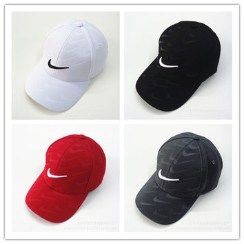 """Nike"" Fashion Casual Simple Embroidery Tick Hook Cotton Baseball Cap Hat"