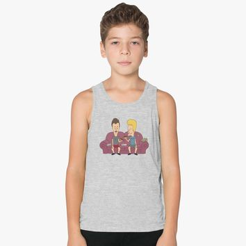 Beavis And Butthead Kids Tank Top