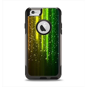 The Neon Glowing Rain Apple iPhone 6 Otterbox Commuter Case Skin Set