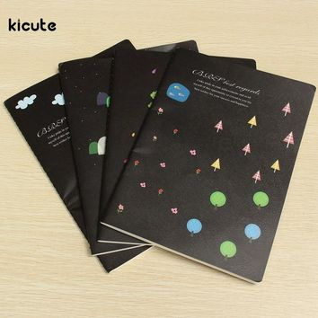 Wholesale 16K Lovely Tree Pattern Notebook Notepad for Diary Journal Note Book Office School Stationery Supplies Student Gifts
