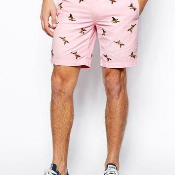 Polo Ralph Lauren Embroidered Bird Shorts
