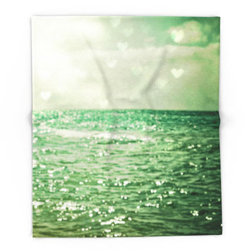 Society6 Sea Of Happiness Blanket