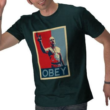 Techno Viking Obey Tee Shirts from Zazzle.com