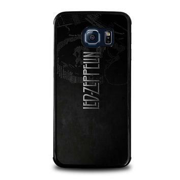 LED ZEPPELIN LYRIC Samsung Galaxy S6 Edge Case Cover