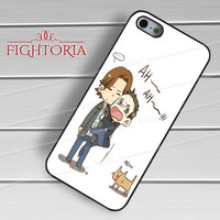sam n dean funny story-NY for iPhone 4/4S/5/5S/5C/6/ 6+,samsung S3/S4/S5,S6 Regular,S6 edge,samsung note 3/4