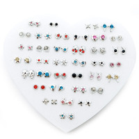 Trendy Stud Earring Set