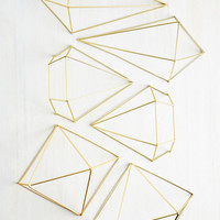 Abode Well Wall Decor in Gold | Mod Retro Vintage Decor Accessories | ModCloth.com