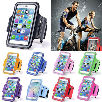 Waterproof 5.5 inch Universal Running Sports Exercise GYM Armband Phone