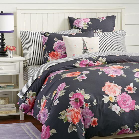 Vintage Bloom Duvet Cover Sham From Pbteen Bedding Love