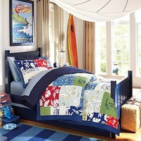 Island Patchwork Bedroom | Pottery Barn Kids
