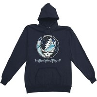 Grateful Dead Men's  Steal Your Sky And Space Hooded Sweatshirt Black