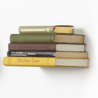 Conceal Invisible Book Shelf by Umbra