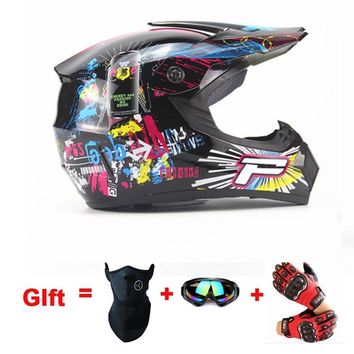 New mens casco capacete motorcycle helmet dirt bike atv motocross helmet off road racing moto helmet free shipping S M L XL