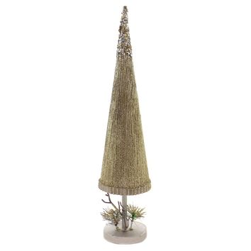 Christmas LARGE GOLD TREE Wood Department 56 6002512