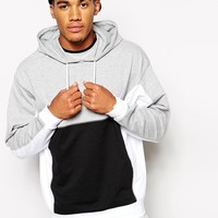 ASOS Oversized Hoodie With Colo