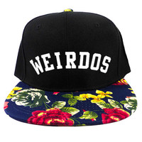 Poetic Weirdos Snapback Hat