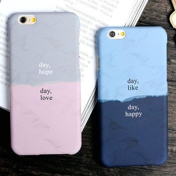 Day Hope Day Love Day Like Day Happy Case for iPhone 7 7 Plus