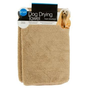 Small Super Absorbent Dog Drying Towel Set of 12 Pack