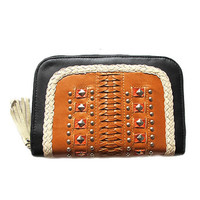 Moonbah Leather Wallet - Black Desert