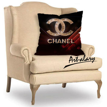 Glittering Logo  Chanel  For Pillow Cover and Pillow cases