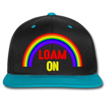 loam on beanie or hat