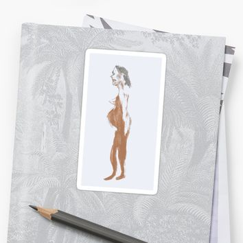 'Nude 11' Sticker by BillOwenArt