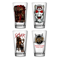 Reign in Blood Pint Glass Set | Everything | Slayer Store