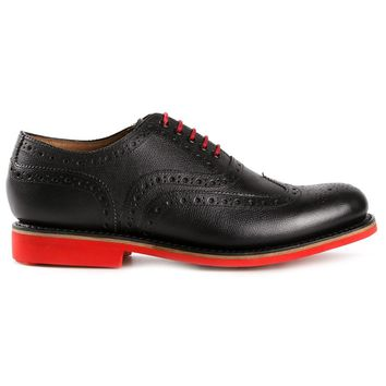 Grenson contrast lace brogues