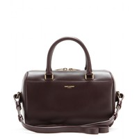 saint laurent - duffle 3 mini leather bowling bag