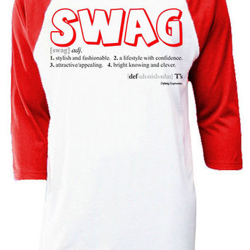 """SWAG"" Baseball T-shirt"