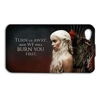 Khaleesi Quote Game of Thrones Phone Case iPhone 4 4s 5 5c 5s 6 Plus + Hot New