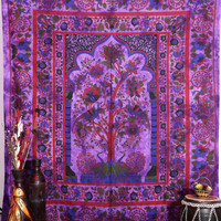 Tree of Life Tapestries, Tapestry Wall Hanging, Hippie Tapestries, Wall Tapestries, Hippie Dorm Tapestry Indian Tapestry Bohemian Tapestries