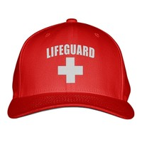 Lifeguard Embroidered Baseball Cap
