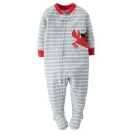 Carter's Striped Footed Pajamas - Baby