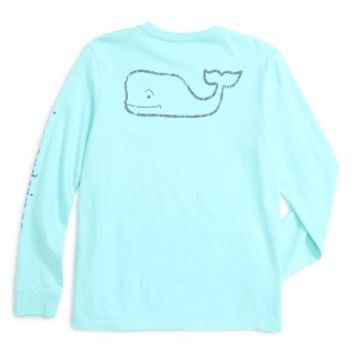 Vineyard Vines Vintage Whale Graphic Long Sleeve T-Shirt (Big Boys) | Nordstrom