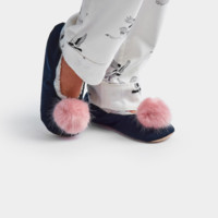 Ballet Pom Slipper - 2 Options