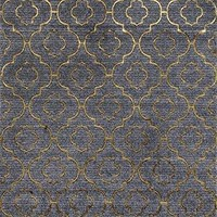 2026 Gold Moroccan Trellis Area Rugs