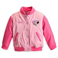 Minnie Mouse Varsity Jacket for Girls - Personalizable | Disney Store