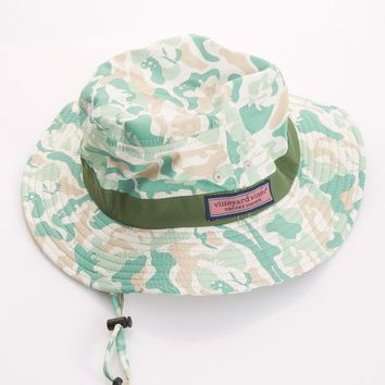 Chappy Camo Fishing Hat