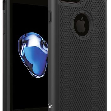 For iPhone 7 Plus Case, LK [Shock Absorption] Drop Protection Armor Hybrid Dual Layer Defender Protective  for iPhone 7 Plus
