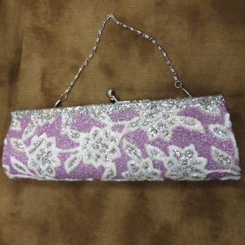 Wedding Clutch Purse - Purple Clutch - Wedding Purse - Evening Bag - Wedding Handbag - Prom Clutch - Bridal Shower Gift - Gifts Under 50