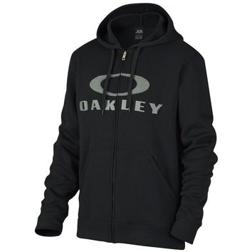 Oakley Ellipse Full Zip Hoodie Black