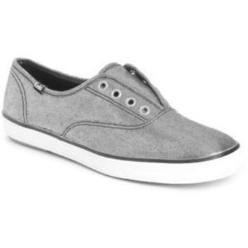 KEDS for AMERICAN RAG Black Gold  Laceless Sneakers