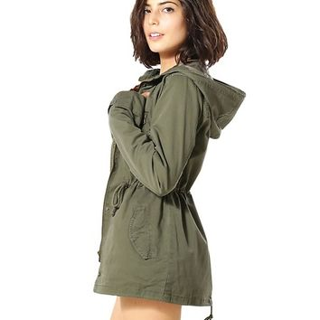SOLID MILITARY JACKET_KS655430912