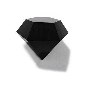 Black Diamond Wall Sculpture