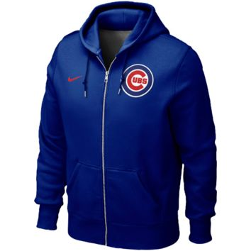 Chicago Cubs Nike Classic Full Zip Hoodie 1.2 – Royal Blue